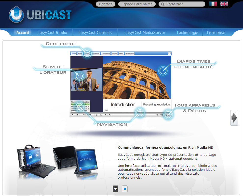 3eme prix SA 2009 – Ubicast