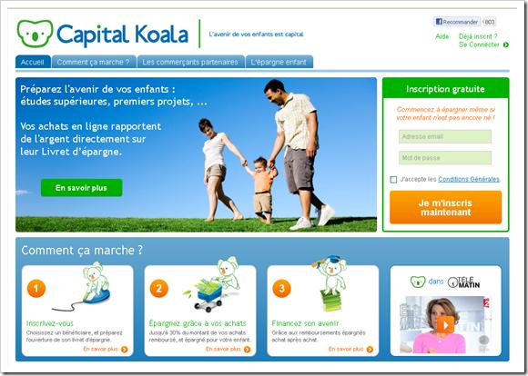 Coup de coeur du jury 2012 – Capital Koala
