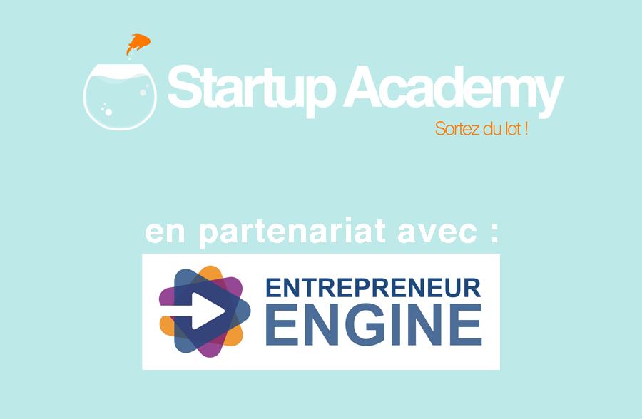 SA en partenariat avec entrepreneur engine