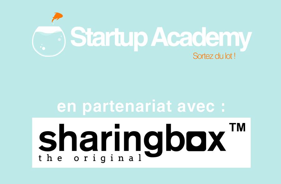 SA en partenariat avec sharingbox