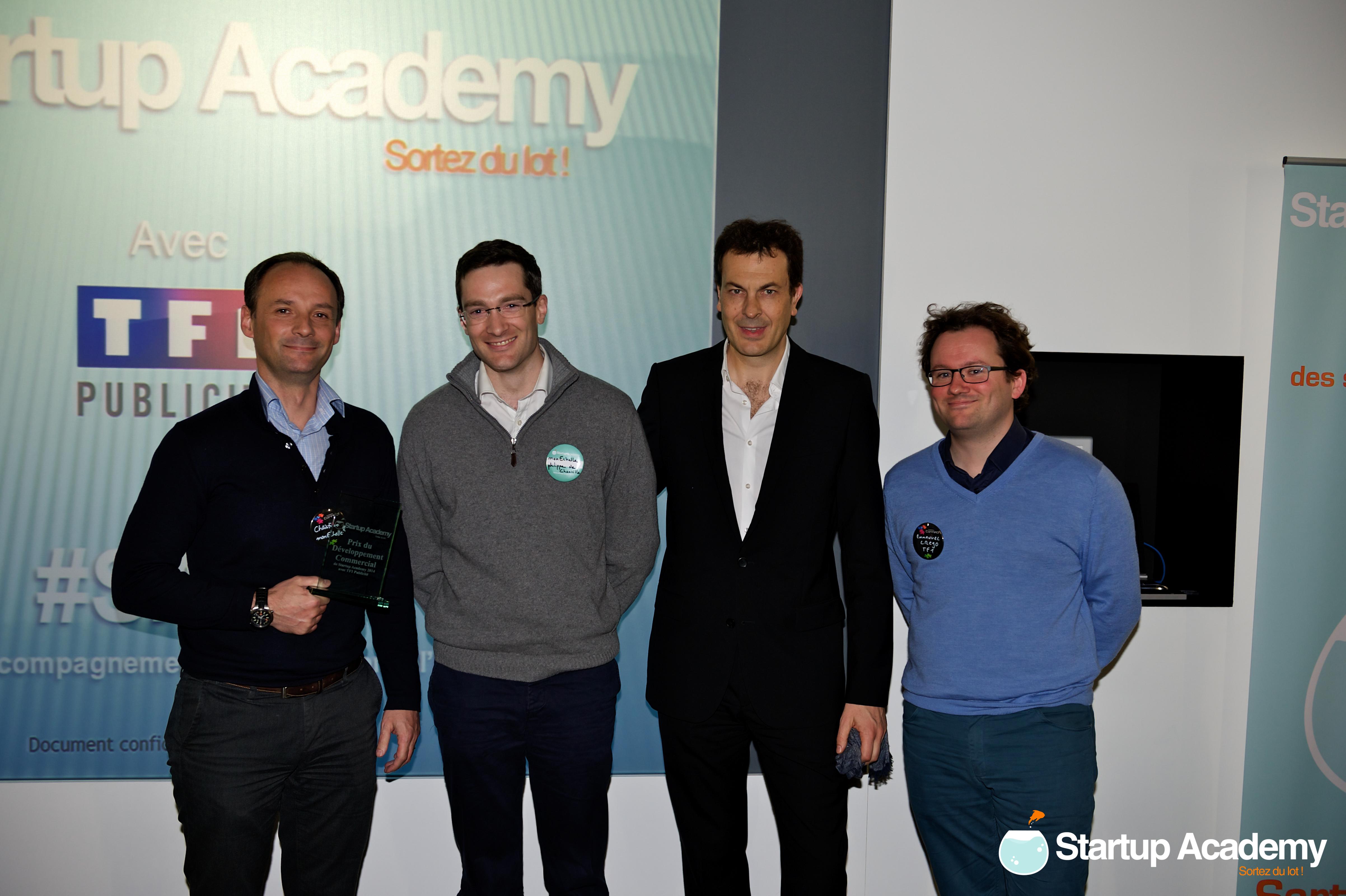 Prix du développement commercial avec TF1 publicité – MonEchelle