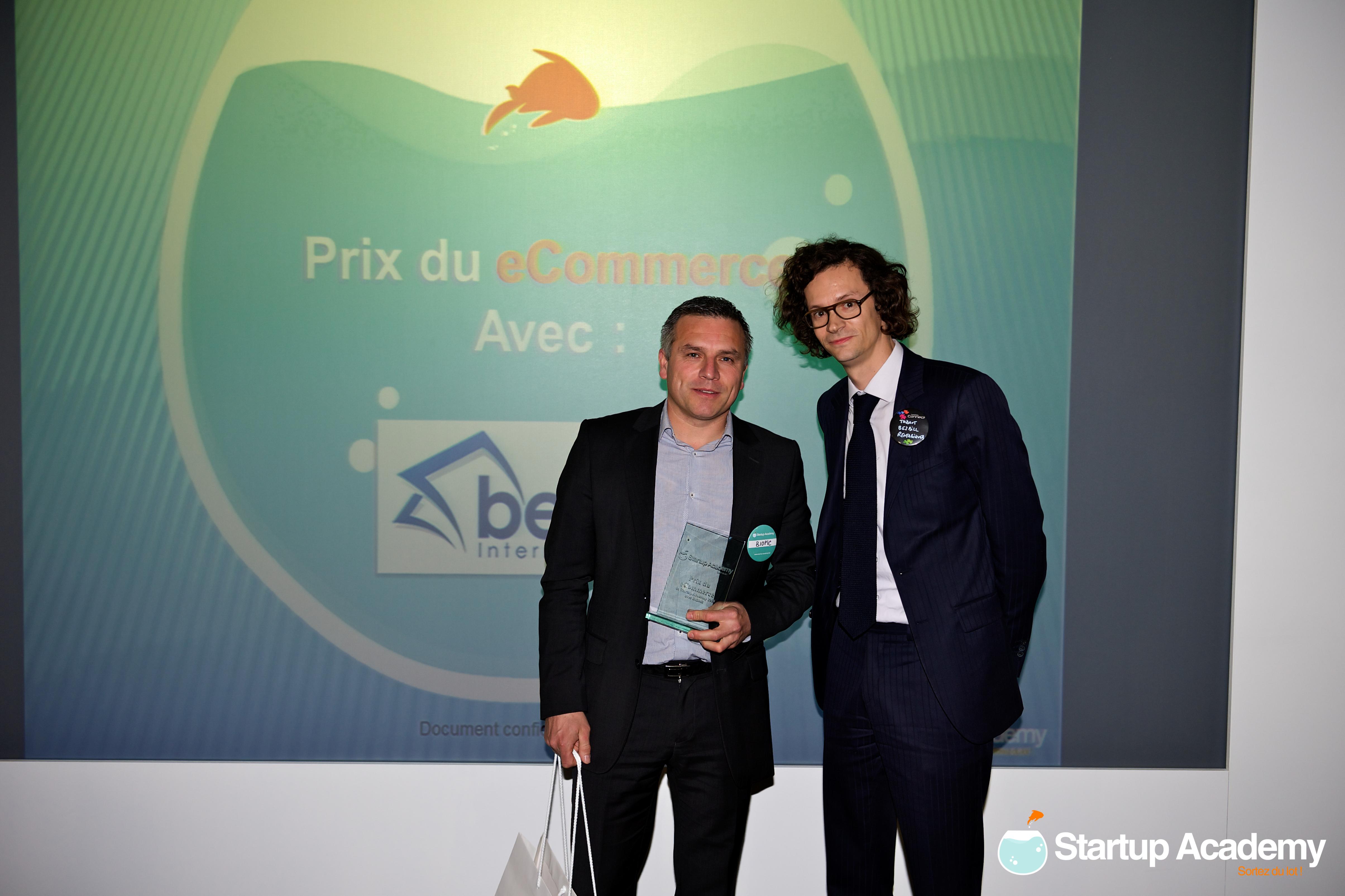 Prix du ecommerce avec Be2bill – Biopic