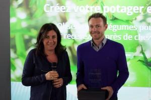 Coup de Coeur du Jury - monpotager et Marie-Christine Levet Illiad